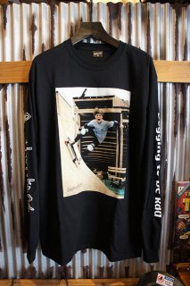 Gnarhunters Begging to be Rad L/S Tee Rob Welsh (BLACK)