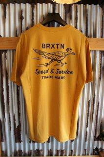 BRIXTON DASH S/S PREMIUM TEE (MUSTARD)