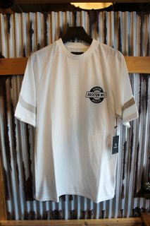 BRIXTON NEWELL S/S KNIT (OFF WHITE)