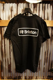 BRIXTON VALSPAR II S/S STANDARD TEE (BLACK)