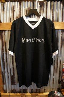 BRIXTON PROXY MESH S/S KNIT (BLACK)