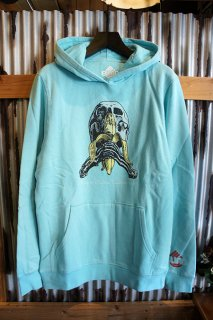 BLIND SKATEBOARD Blind Skull and Banana P/O Fleece (VINTAGETEAL)