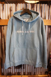 BANKS JOURNAL LABEL PULLOVER FLEECE (SEAFOAM)