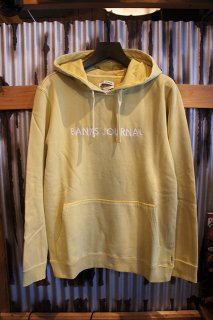 BANKS JOURNAL LABEL PULLOVER FLEECE (LEMON)