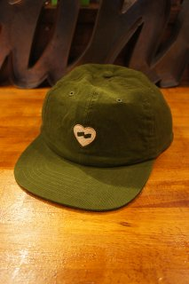 BANKS JOURNAL HEART HAT (GREEN ARMY)