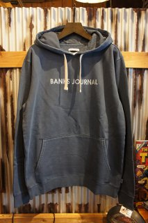 BANKS JOURNAL LABEL PULLOVER FLEECE (INSIGNIA BLUE)