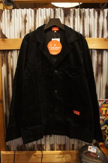 Cookman Lab.Jacket (「Corduroy」 Black)