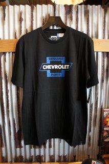 BRIXTON × CHEVROLET ORIGINAL S/S PREMIUM TEE (BEL AIR BLACK)