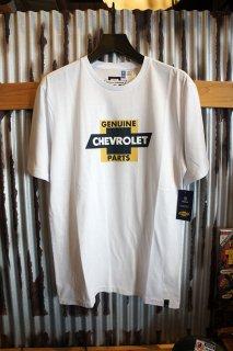 BRIXTON × CHEVROLET ORIGINAL S/S PREMIUM TEE (EL CAMINO WHITE)