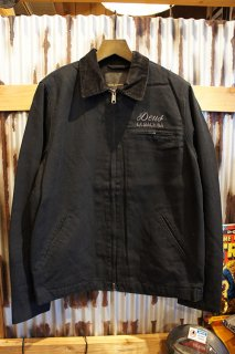 DEUS EX MACHINA Address Workwear Jacket (BLACK)