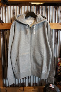 BANKS JOURNAL PRIMARY FLEECE ZIP UP HOODIE (HEATHER GRAY)