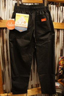 Cookman Chef Pants (「Ripstop」 Black)