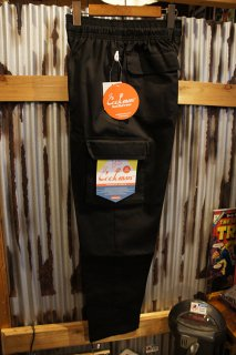 Cookman Chef Cargo Pants (「Black」)