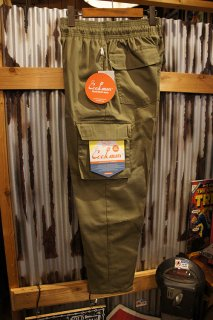 Cookman Chef Cargo Pants (「Ripstop」 Khaki)
