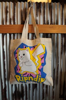 RIPNDIP Catch Em All Tote Bag (Natural)