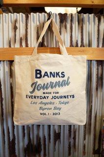 BANKS JOURNAL ENCORE TOTE BAG (OFF WHITE)