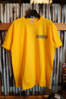 Rocky Mountain Featherbed Co. RMFB REFLECTOR NAVY TEE (YELLOW)