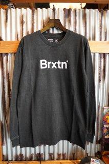 BRIXTON Crowd II L/S Tee (Black)