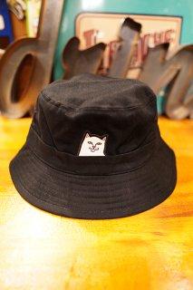 RIPNDIP Lord Nermal Bucket Hat (Black)
