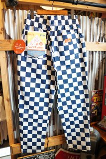 Cookman Chef Pants (「Checker」 Navy)