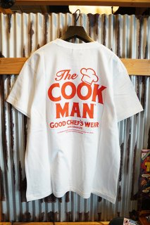 Cookman T-shirts 「Heart」 (WHITE)