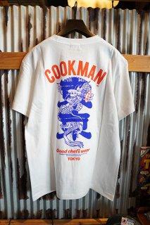 Cookman T-shirts 「Tokyo Dragon」 (WHITE)