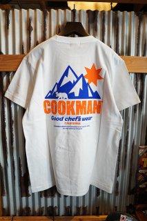 Cookman T-shirts 「California bear」 (WHITE)