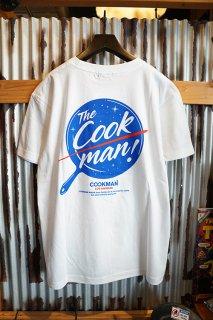 Cookman T-shirts 「Rocket」 (WHITE)