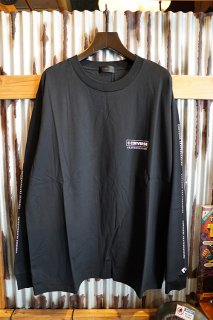 "CONVERSE SKATEBOARDING ""Wear & Goods Collection"" LOGO L/S T-SHIRT (BLACK)"