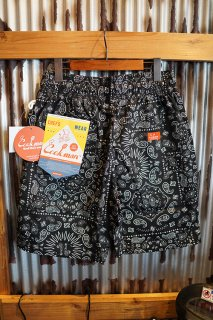 Cookman Chef Short Pants (「Paisley」 Black)