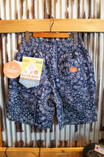 Cookman Chef Short Pants (「Paisley」 Navy)