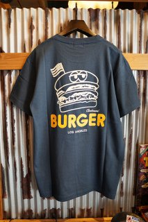 Cookman T-shirts 「BURGER」 (NAVY)