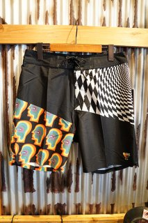 GLOBE COF Boardshort (Vortex Black)