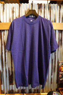LOS ANGELES APPAREL 6.5OZ SHORT SLEEVE GARMENT DYE CREW NECK T-SHIRT (PURPLE)