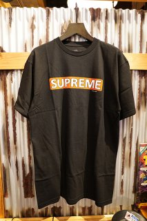 POWELL PERALTA SUPREME S/S T-SHIRT (BLACK)