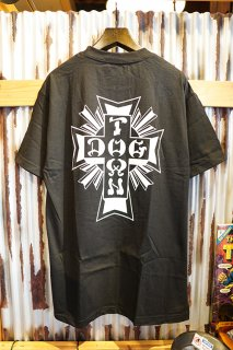 DOGTOWN Cross Logo T-shirt (Black/White)