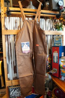 Cookman Fisherman's Bib Overall (「Chocolate」)