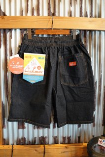 Cookman Chef Short Pants (「DENIM」Black)