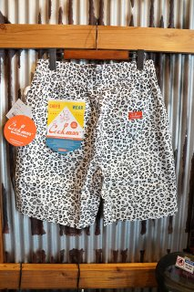 Cookman Chef Short Pants (「Snow Leopard」)