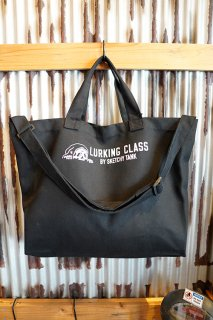 LURKING CLASS BY SKETCHY TANK 2WAY TOTE BAG (BLACK)