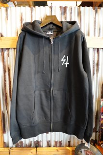 LURKING CLASS BY SKETCHY TANK FLAG ZIP HOOD (BLACK)