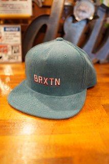 BRIXTON Hubbard MP Snapback Cap (Aqua)