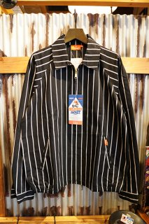 Cookman Delivery Jacket 「Stripe」Black