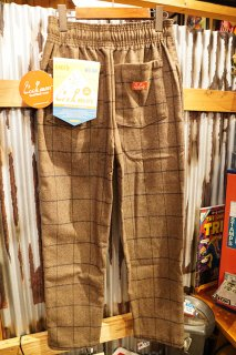 Cookman Chef Pants (「Wool Mix Check」Brown)