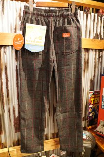 Cookman Chef Pants (「Wool Mix Check」Gray)