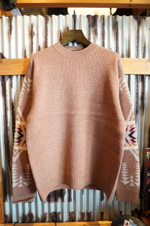 PENDLETON CREW NECK PULLOVER KNIT (CAMEL)