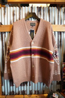 PENDLETON BUTTON UP CARDIGAN (CAMEL)