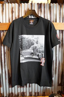 JAY ADAMS REAL JAY PHOTO TEE (BLACK)