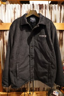 ROARK REVIVAL CORDUROY COACHES JACKET (BLACK)