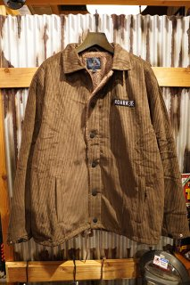 ROARK REVIVAL CORDUROY COACHES JACKET (D.BROWN)